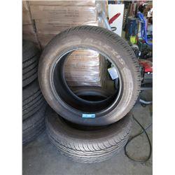 2 Maxxis 255/55ZR19 Tires - 77% Tread