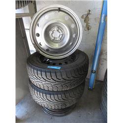 2 Nokian Hakkapeliitta 205/65 R15 Tires