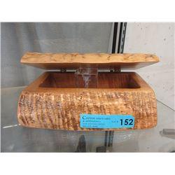 Hand Made Solid Wood Keepsake Box