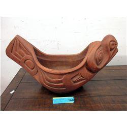 Rare Haida Clay Feast Bowl