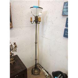 Vintage Floor Standing Tri Light
