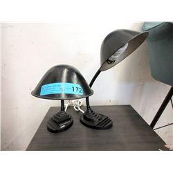 Pair of Vintage Gooseneck Desk Lamps
