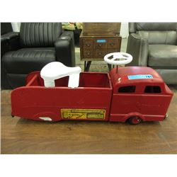 1950s Structo Ride-On Fire Truck