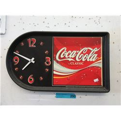 2003 Coca-Cola Wall Clock