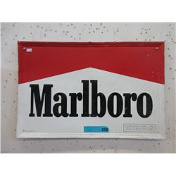1991 Embossed Tin Marlboro Sign