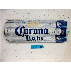 Embossed Tin Corona Light Sign