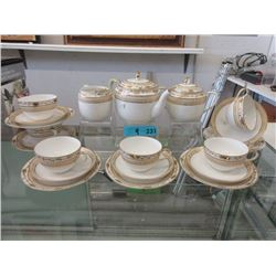 Vintage Hand Painted Nippon Luncheon Set