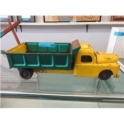 1950s Marx 6-Wheel Dump Truck