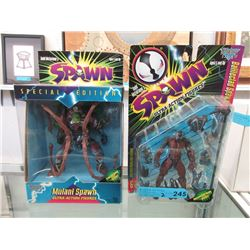 2 McFarlane's  Spawn  Action Figures