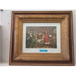 Framed Print of Vintage Hudson's Bay Event