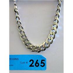 """8"""" Italian .925 Silver Figaro Style Bracelet"""