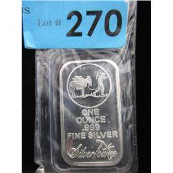 1Oz Silver Towne .999 Silver Bar