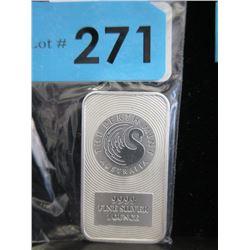 1 Oz Australia Perth Mint .9999 Silver Bar