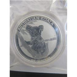 2 x1/2 Oz Perth Mint .999 Silver KoalaCoins