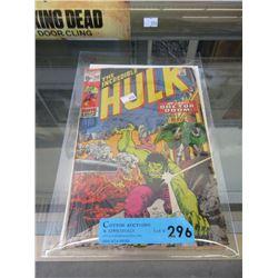 "1971 ""Hulk #143"" 15¢ Comic - Marvel Comic"