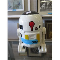 Glazed R2D2 Bank