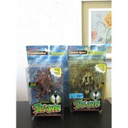 "2 McFarlane's ""Spawn"" Action Figures"