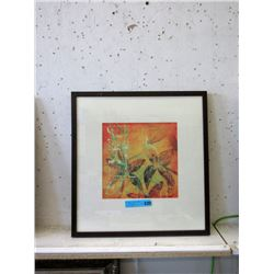 "Framed ""Tropicana"" Wall Art"