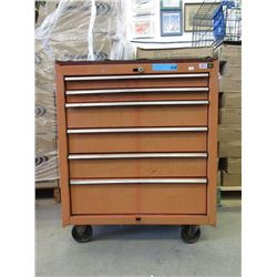 Rolling Metal Craftsman Tool Chest
