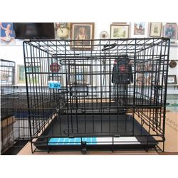 2 Small New Dog Crates - 61 x 43.3 x 50.5 cm