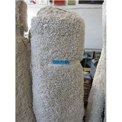 White Shag Carpet - Floor Sample