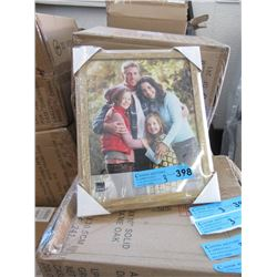"""3 Boxes of 12 New 8"""" x 10"""" Oak Picture Frames"""
