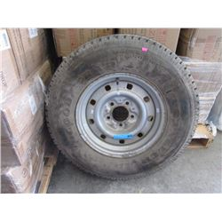 One Wrangler M+S LT245/75R16 Tire - 100% Tread
