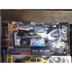 R/C Camo Jungle Truck - Store Return