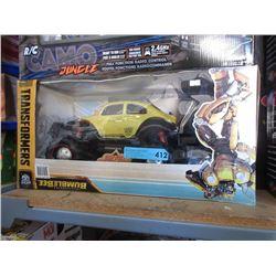 R/C Transformers Bumblebee Car - Store Return
