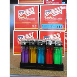 5 Cases of New Neon Gas Lighters