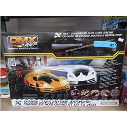 New DMX Slot Car Racing Set