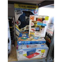 Snorkeling Set & 4 Boxed Toys - Store Returns