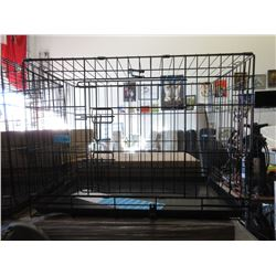 Mid Size New Dog Crate - 76.5 x 47 x 55 cm