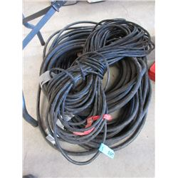 2 Extension Cords & a Garden Hose