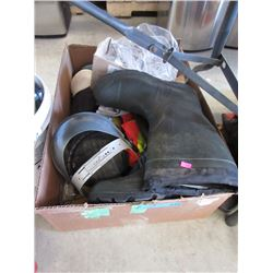Rubber Boots, Safety Vest, Goggles & More