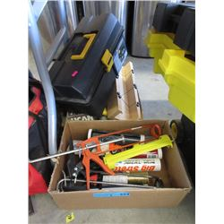Tool Box, Mitre Guide & More