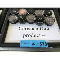 10 New Christian Dior Eye Shadows