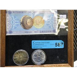 Three Piece Bit Coin Lot