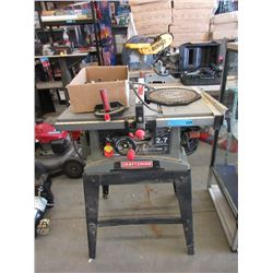 "Craftsman 10"" Table Saw on Stand"