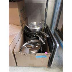 Box of Kirkland Cookware & Baking Pans