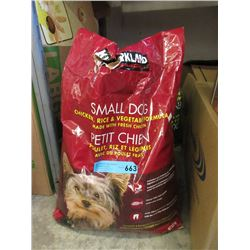 9 KG Bag of Kirkland Dry Dog Food - Resealed