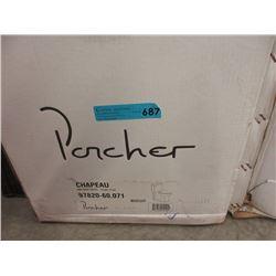 New Porcher 1 Piece Toilet - Biscuit Colour