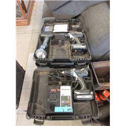 2 Panasonic Cordless Drills