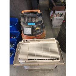 Window Air Conditioner & Wet/Dry Vacuum