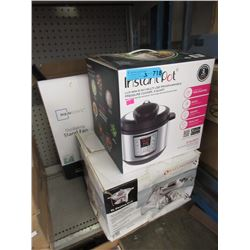 New Stand Fan, Instant Pot & 6 L Chafing Dish