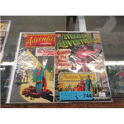 2 Vintage 12¢ DC Comics