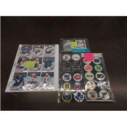 3 Piece Hockey Collectible Set