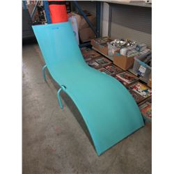 New Folding Sling Lounge Chair - Blue