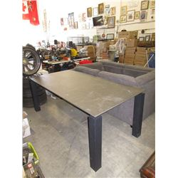 Stone Top Dining Table - Store Return