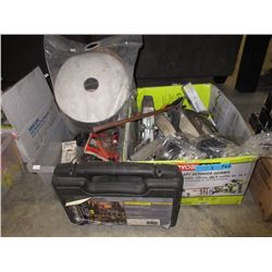 Quick Driver & 2 Boxes of Tools